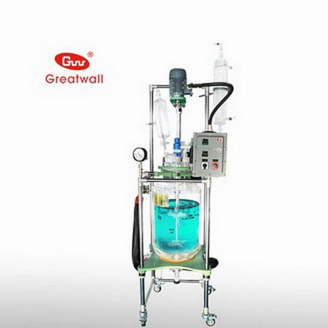 长城科工贸GR-100L双层玻璃反应釜